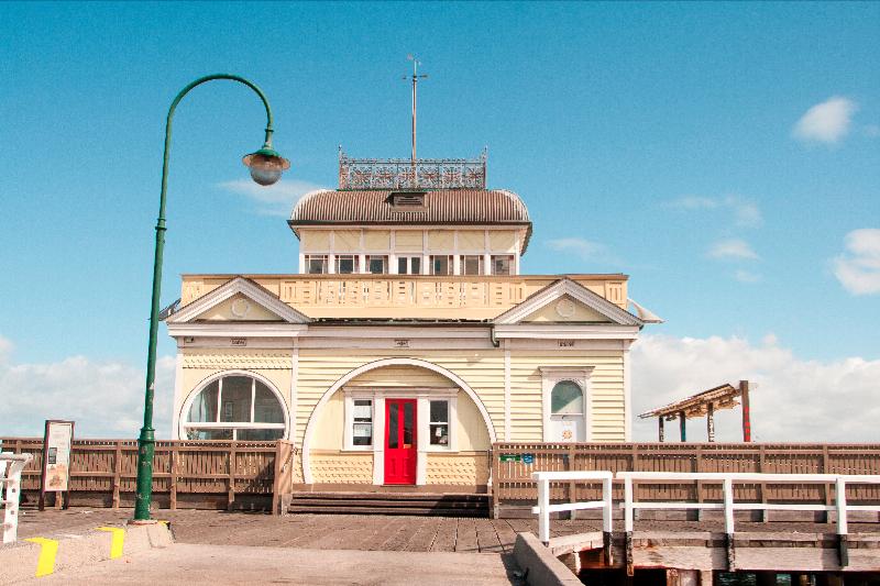 Kiosk Pier